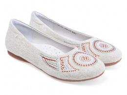 Туфли подростковые Антилопа 35711-3321 бежевый
