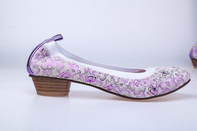 Туфли подростковые Антилопа 35111-2646 сиреневый