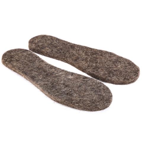 Стельки обувные из потникового войлока