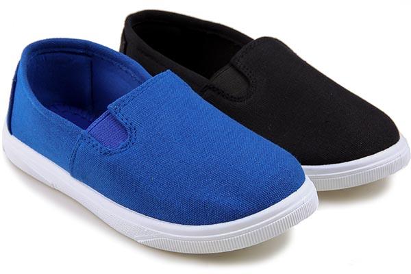 Кеды подростковые Easily 188 Black/Blue