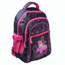 Рюкзак Ритм 2681 чёрно-розовый