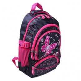 Рюкзак Ритм 2685 чёрно-розовый