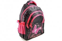 Рюкзак Ритм 0118-114 чёрно-розовый