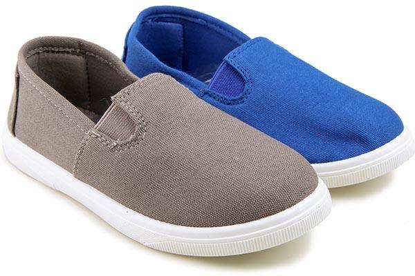 Кеды подростковые Easily 188 Grey/Blue