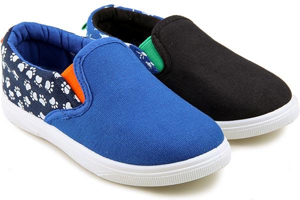 Кеды подростковые Easily 191 Black/Blue
