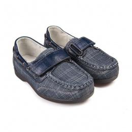 Туфли м/детские Milton SC-2260 синий
