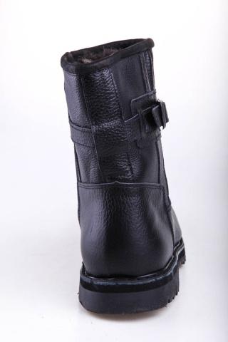 Полусапоги зимние мужские Мирунт ПМ324 с замком чёрный
