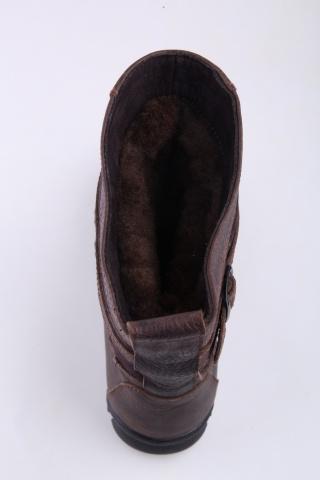 Унты-монголки подростковые Мирунт ЛП114-2 коричневый