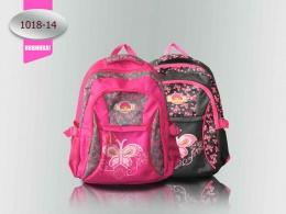 Рюкзак Ритм 1018-14 чёрно-розовый