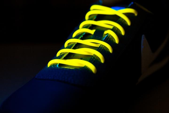 Шнурки силиконовые Clampic жёлтые