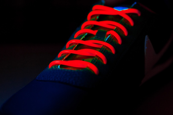 Шнурки силиконовые Clampic красные