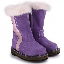 Унты-монголки детские Мирунт ВД421 фиолетовый